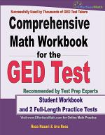 Comprehensive Math Workbook for the GED Test