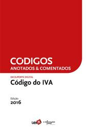 Código do IVA 2016 - Anotado & Comentado