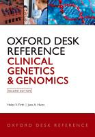 Oxford Desk Reference  Clinical Genetics and Genomics PDF