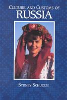 Culture and Customs of Russia PDF