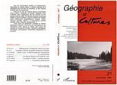 Géographie et cultures n°21