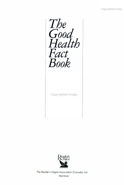 The Good Health Fact Book   a Complete Question and answer Guide to Getting Healthy and Staying Healthy PDF