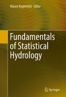 Fundamentals of Statistical Hydrology PDF