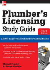 Plumber's Licensing Study Guide, Third Edition: Edition 3