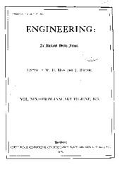 Engineering: Volume 19