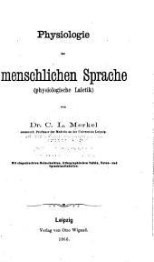 Physiologie der menschlichen Sprache, physiologische Laletik