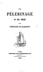 Un pélérinage au 19e Siècle