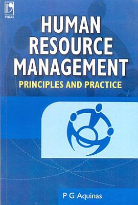 Human Resource Management   Principles and Practice