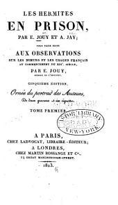 Les hermites en prison: ou, Consolations de Sainte-Pélagie, Volume1