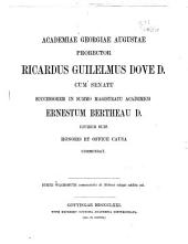 Commentatio de Stobaei eclogis ...