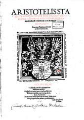 Aristotelis Stagyritae Acroases Physicae: Libri VIII