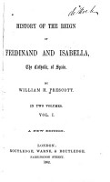 History of the Reign of Ferdinand and Isabella of Spain PDF