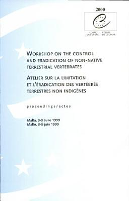 Atelier Sur la Limitation Et L   radication Des Vert  br  s Terrestres Non Indig  nes PDF