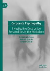 Corporate Psychopathy PDF
