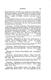 Bibliotheca Americana: A Dictionary of Books Relating to America, from Its Discovery to the Present Time, Volume 7