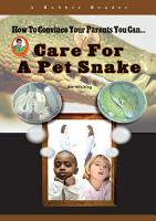 Care for a Pet Snake PDF
