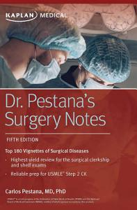 Dr  Pestana s Surgery Notes Book