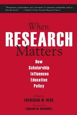When Research Matters