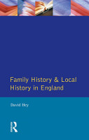 Family History and Local History in England PDF