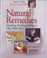 Natural Remedies PDF