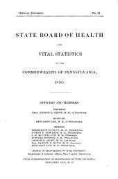 Annual Report: Volume 6, Part 1890
