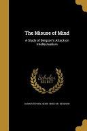 MISUSE OF MIND PDF