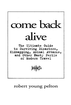 Come Back Alive PDF