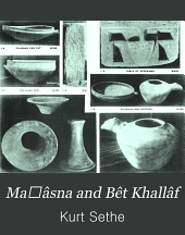 Maḥâsna and Bêt Khallâf