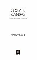 Cozy in Kansas PDF