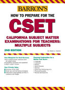 How to Prepare for the CSET Book