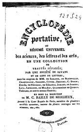 Encyclopédie portative, ou Résumé universel des sciences, des lettres et des arts: Volume1