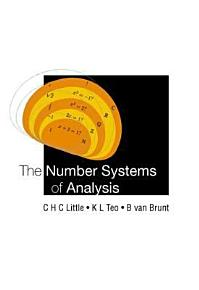 The Number Systems of Analysis PDF