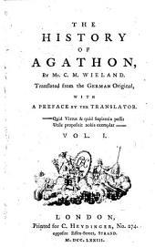 The History of Agathon: Volume 1