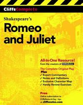CliffsComplete Romeo and Juliet