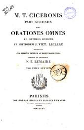 Orationes Omnes ad Optimos Codices