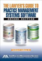The Lawyer s Guide to Practice Management Systems Software PDF