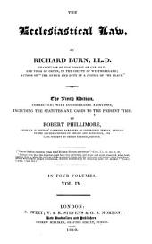 The Ecclesiastical Law: Volume 2