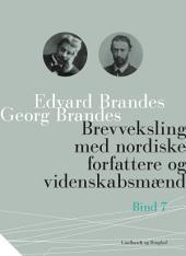 Brevveksling med nordiske forfattere og videnskabsmænd (bind 7)
