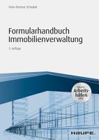 Formularhandbuch Immobilienverwaltung   inkl  Arbeitshilfen online PDF