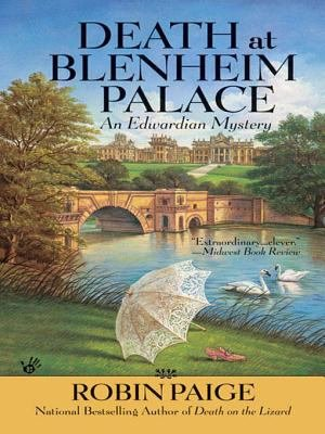 Death at Blenheim Palace Pdf Book