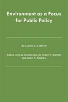 Environment As a Focus for Public Policy PDF