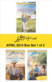 Love Inspired April 2015 - Box Set 1 of 2: Amish Redemption\A Dad for Her Twins\Small-Town Bachelor