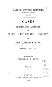 United States Reports: Cases Adjudged in the Supreme Court, Volume 96