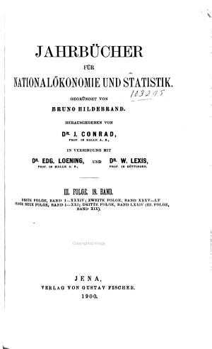 Jahrb  cher f  r National  konomie und Statistik