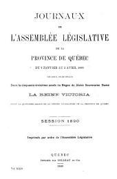 Journaux de l'Assemblee Legislative: Volume24