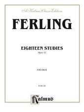 Eighteen Studies, Opus 12: For Oboe