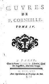 Œuvres de P. Corneille: Horace. Cinna. Polieucte. Le menteur