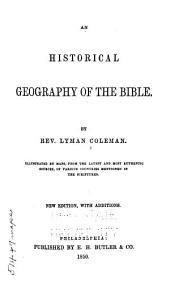 An Historical Geography of the Bible
