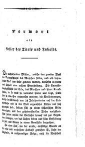 Naturgeschichte des Menschen: Handbuch der populären Anthropologie für Vorlesungen und zum Selbstunterricht. Entwickelungsgeschichte der Erde und des Menschen, Band 2