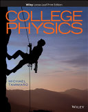 College Physics  WileyPLUS Card with Print Companion Set